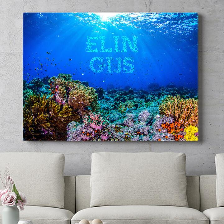 Personaliseerbaar cadeau Onder de zee