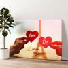 L'amour Toujours Gepersonaliseerde muurschildering