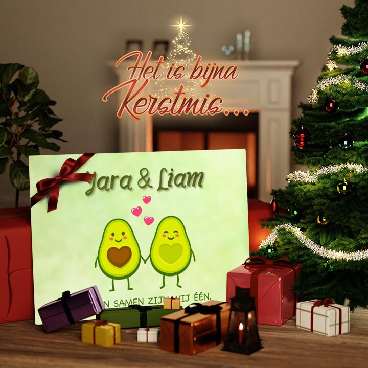 Canvas Cadeau Avocado