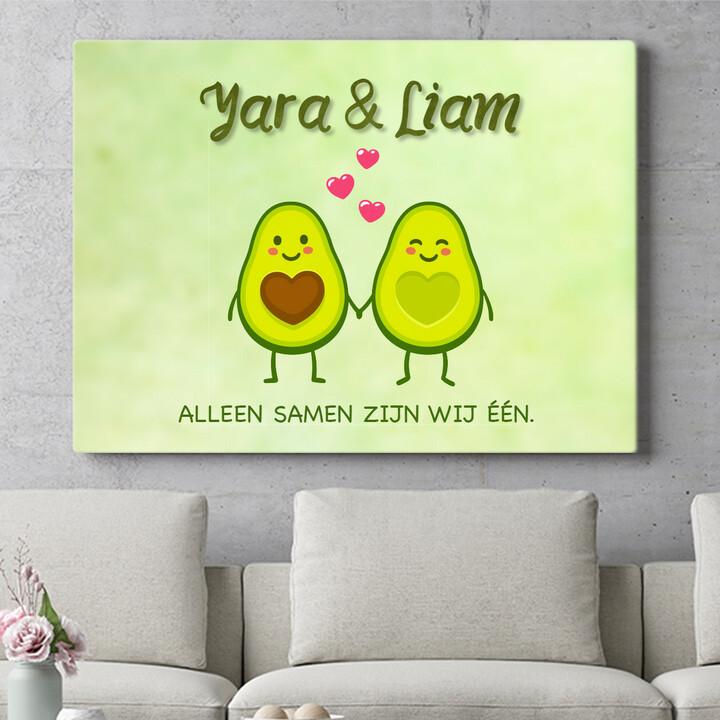 Personaliseerbaar cadeau Avocado