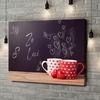 Gepersonaliseerde canvas print Krijtbord