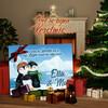 Canvas Cadeau Pinguins