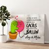 Cactus Balonnen Gepersonaliseerde muurschildering