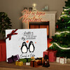 Canvas Cadeau Stel Pinguins