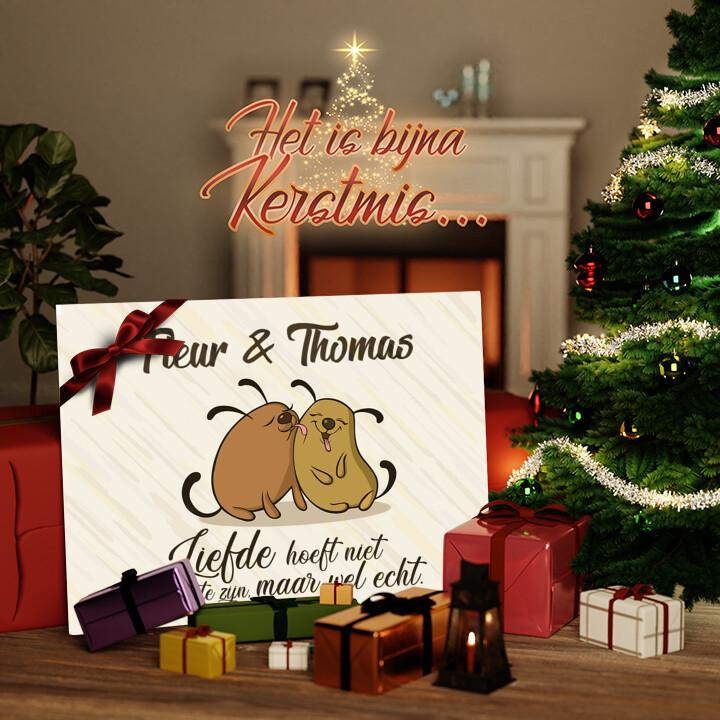 Canvas Cadeau Honden