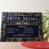 Gepersonaliseerde muurschildering Hotel Moeder