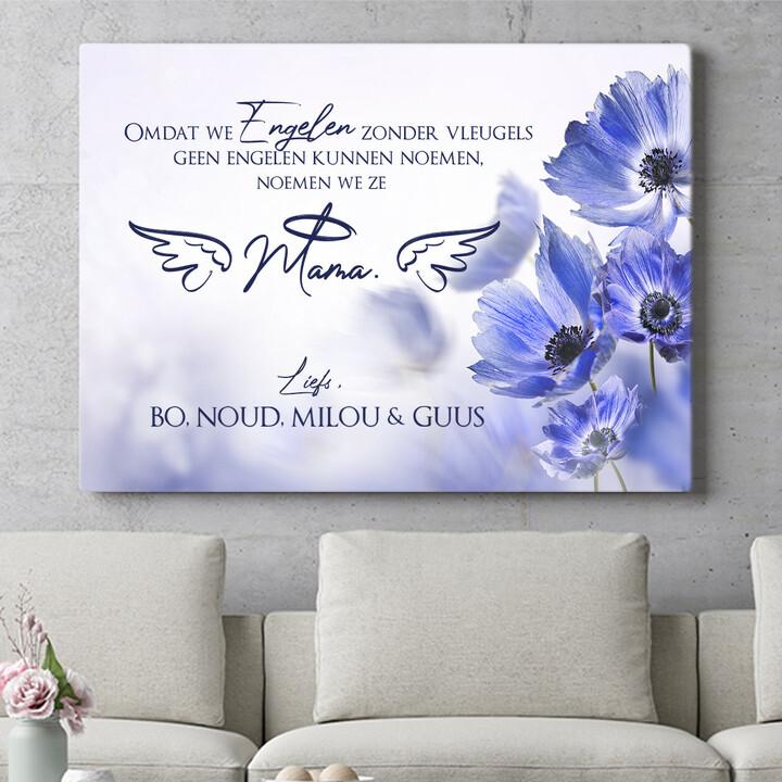 Personaliseerbaar cadeau Engel zonder vleugels