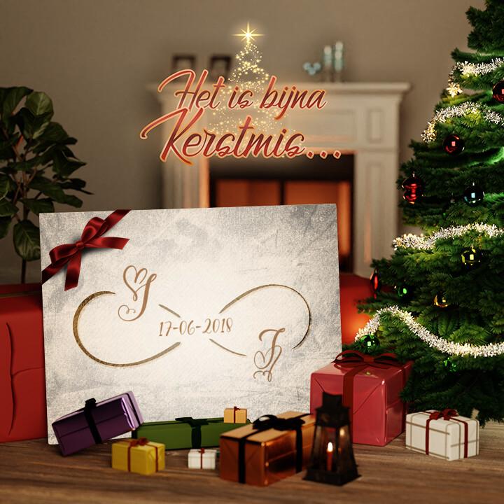 Canvas Cadeau Jij en Ik