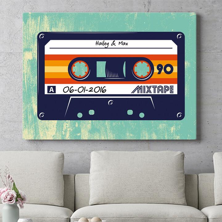 Personaliseerbaar cadeau Mixtape