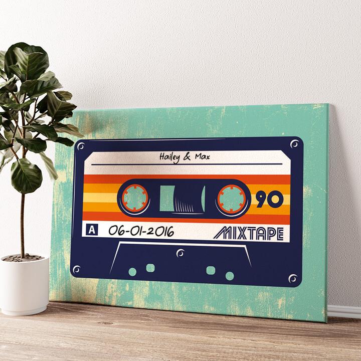 Mixtape Gepersonaliseerde muurschildering