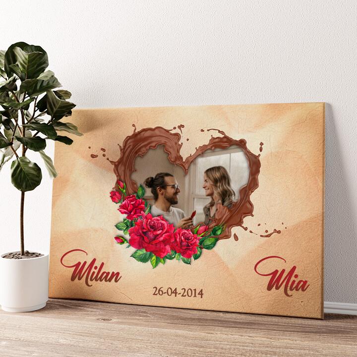Onze chocolade-kant Gepersonaliseerde muurschildering