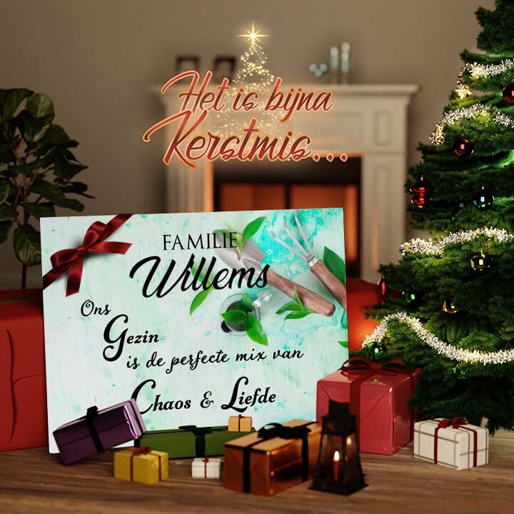 Canvas Cadeau Chaos & liefde
