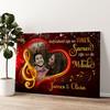 Melodie van Liefde Gepersonaliseerde muurschildering