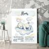 Personaliseerbaar cadeau Canvas voor geboorte konijn dromen