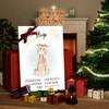 Canvas Cadeau Canvas voor geboorte giraf