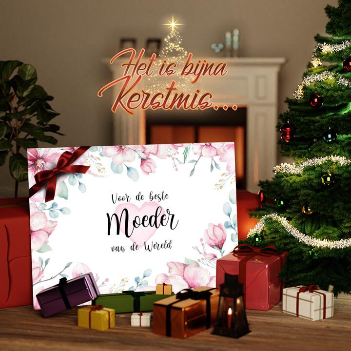Canvas Cadeau Beste Moeder