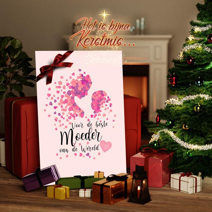 Canvas Cadeau Moederliefde