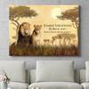 Personaliseerbaar cadeau Leeuwenfamilie