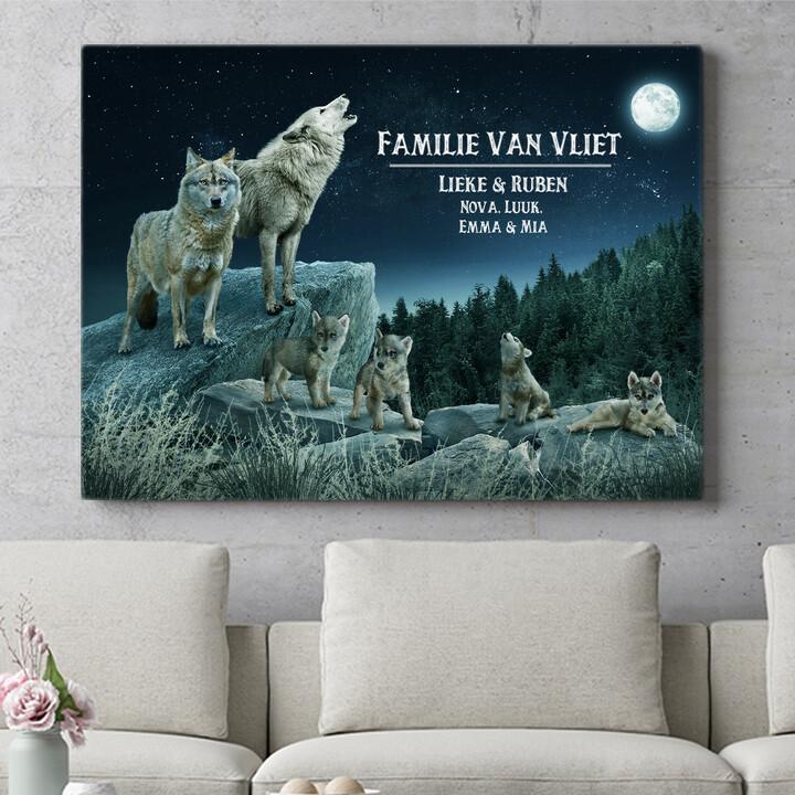 Personaliseerbaar cadeau Wolfsroedel