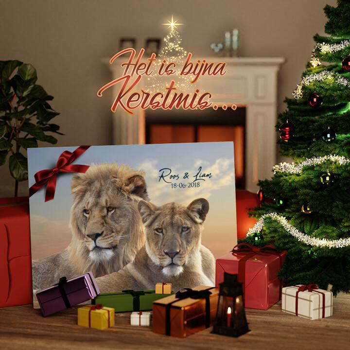 Canvas Cadeau Eeuwige Alliantie