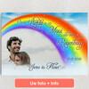 Gepersonaliseerde Canvas Liefde Onder De Regenboog
