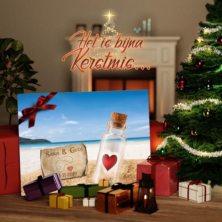 Canvas Cadeau Schatkaart