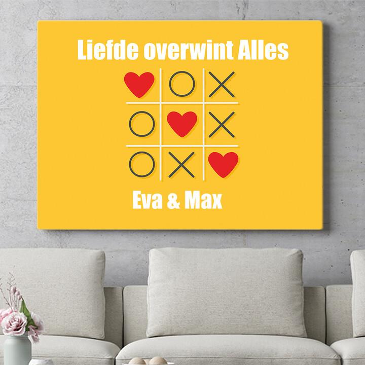 Personaliseerbaar cadeau Tic Tac Liefde