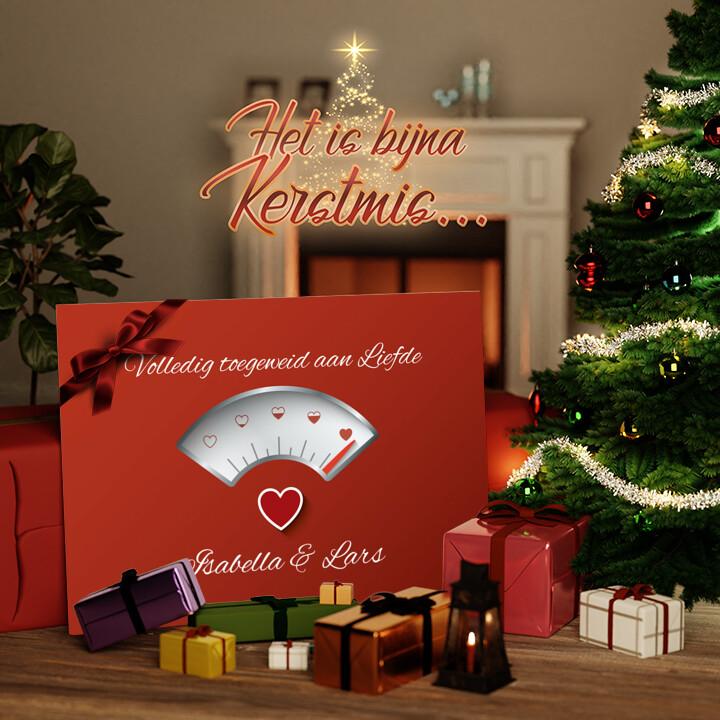 Canvas Cadeau 100% Liefde