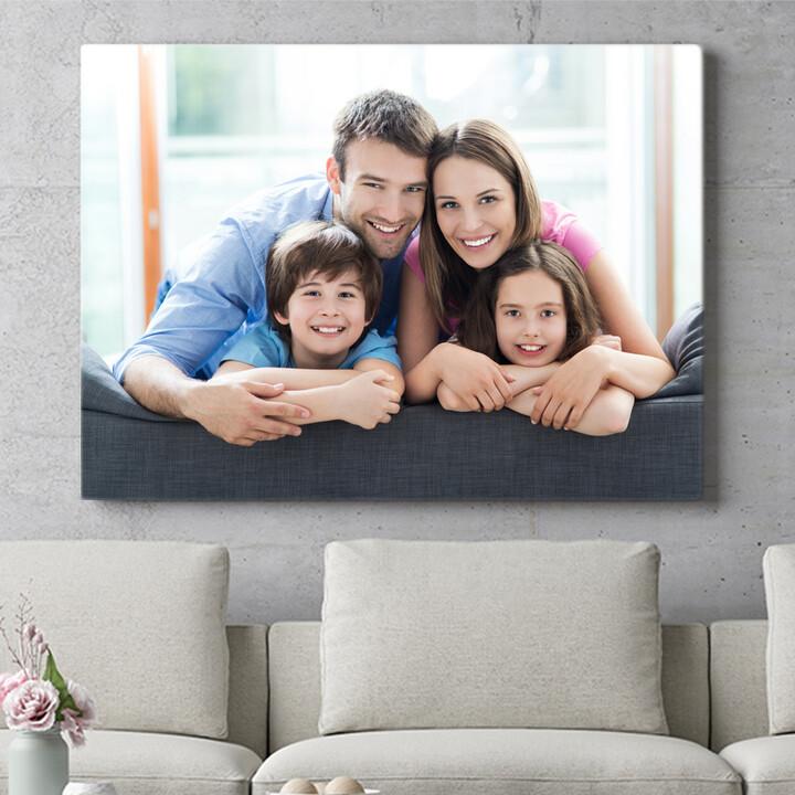 Personaliseerbaar cadeau Jouw foto op canvas
