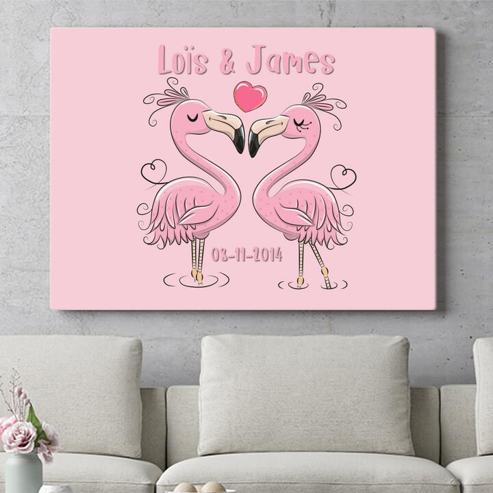Personaliseerbaar cadeau Flamingorama