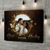 Gepersonaliseerde canvas print Spiegel der Liefde