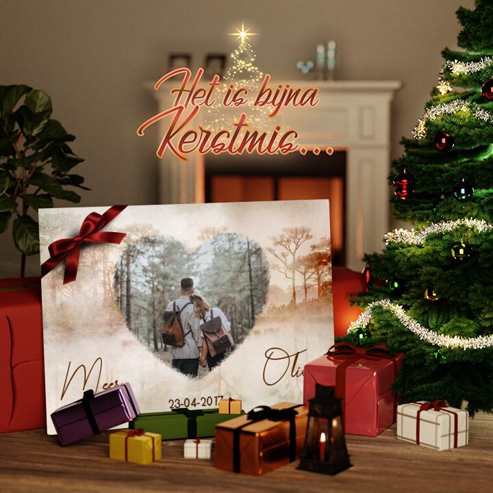 Canvas Cadeau Liefde zoals in een droom
