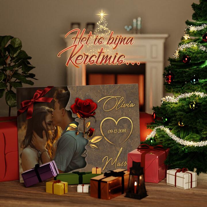 Canvas Cadeau Gefluister van Liefde